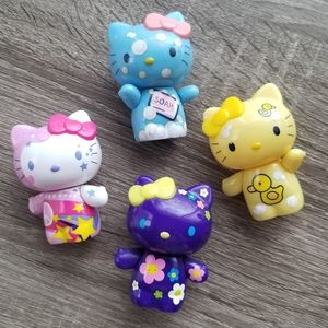 Hello Kitty Figurine Set